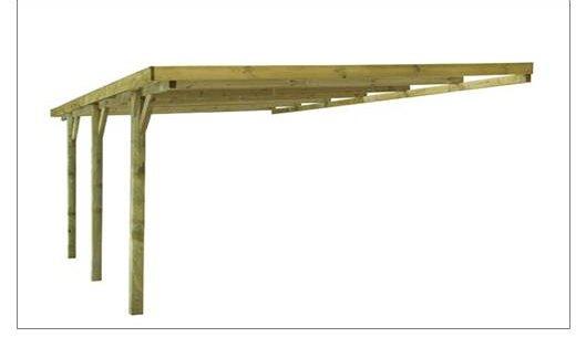 carport bois oise. Black Bedroom Furniture Sets. Home Design Ideas